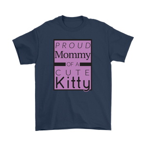 Proud Mommy of a Cute Kitty Unisex T-shirt
