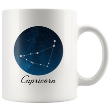 Capricorn Coffee Mug - Capricorn Constellation Zodiac Astrology Horoscope Mug Tea Cup - Gift for Capricorn