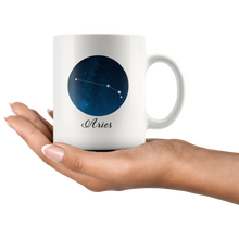 Aries Mug - Aries Constellation 11oz Coffee Mug - Tea Cup - Horoscope Zodiac - Gifts for Aries