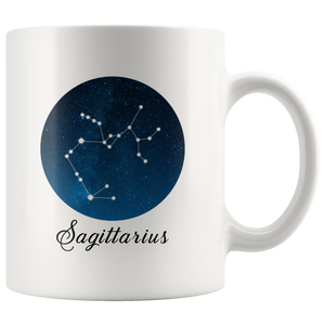 Sagittarius Coffee Mug - Sagittarius Constellation Mug