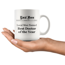 Local Man Named Best Doctor of the Year Mug