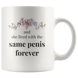 Same Penis Forever Funny Wedding Mug