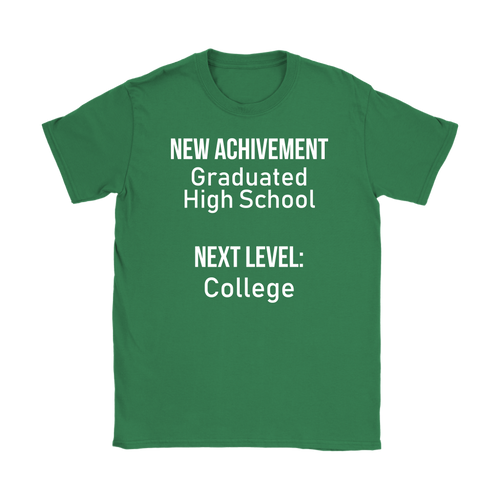 New Achievement High School Womens T-shirt