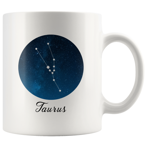 Taurus Constellation: Taurus Coffee Mug