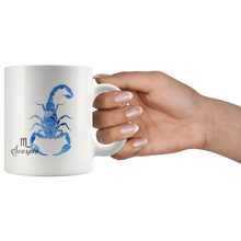 Scorpio Mug - Watercolor Design