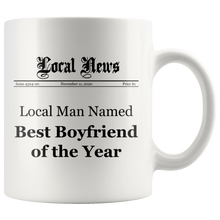 Best Boyfriend of the Year Mug