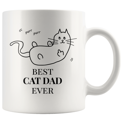 Best Cat Dad Ever Mug