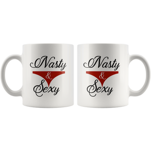 Nasty and Sexy - Underwear Panties Coffee Mug