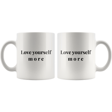 Love Yourself More Inspirational Coffee Mug
