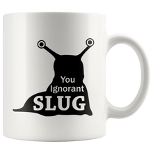 You Ignorant Slug - The Office Dwight Coffee Mug - Pun Mugs