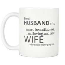 Proud Husband of a Great Wife Funny Coffee Mug