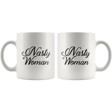 Nasty Woman Mugs - Cursive Letters