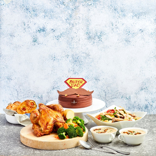 Father's Day Exclusive Takeaway - Five-Course Menu for 3 - 4 Persons
