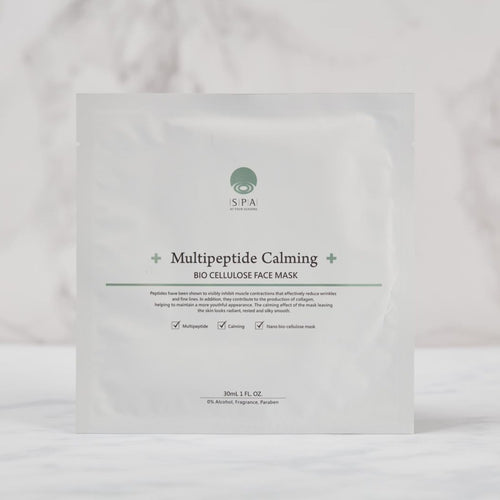SPA at Four Seasons Multipeptide Calming Bio Cellulose Face Mask