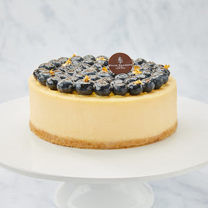 Cheesecake with Eye Care Blueberries