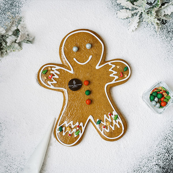 Decorate Your Giant Gingerbread Man (1 Set)