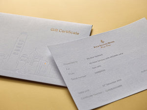 Four Seasons Accommodation & Spa Gift Certificate