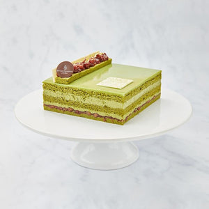 Kyoto Green Tea Cake with Azuki Bean