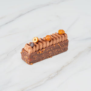 Okinawa Sea Salt Caramel Chocolate and Hazelnut Cake