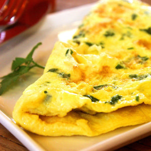 Pan Fried Egg Omelette