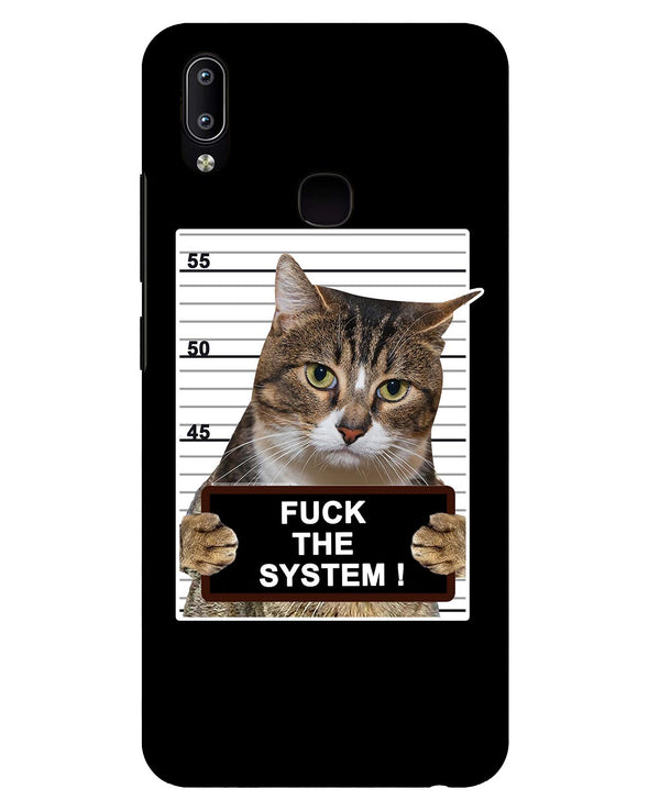 F*CK THE SYSTEM |  Vivo Y91  Phone Case