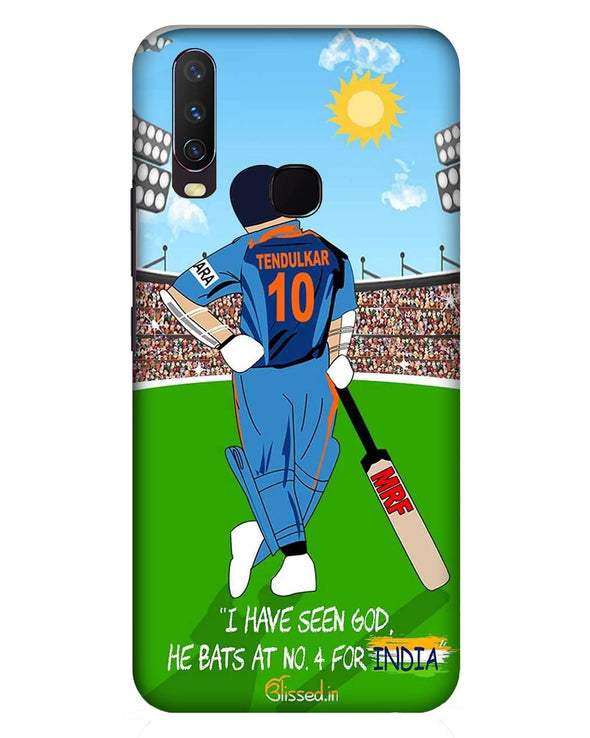Tribute to Sachin |  Vivo Y17  Phone Case