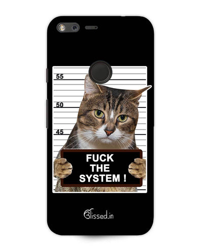 F*CK THE SYSTEM | Google Pixel XL Phone Case