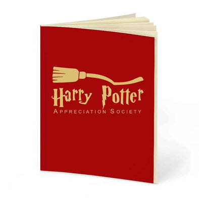 Potter Society | Red Notebook