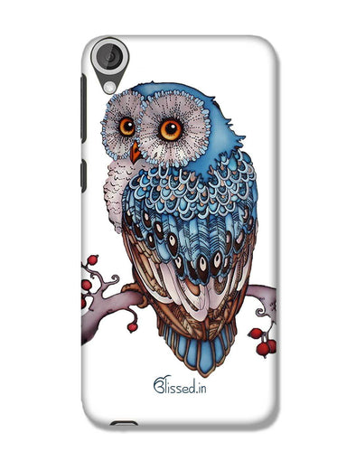 Blue Owl | HTC 820 Phone Case