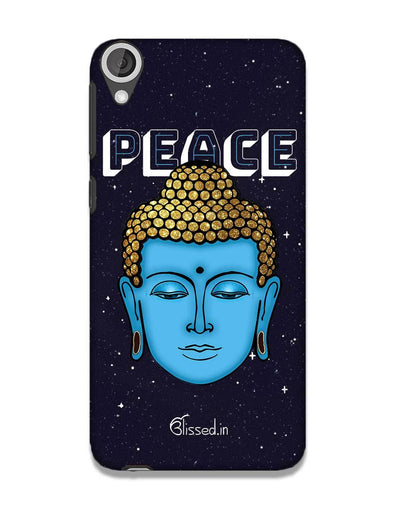 Peace of buddha | HTC 820 Phone Case