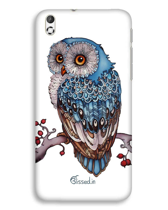 Blue Owl | HTC Desire 816 Phone Case