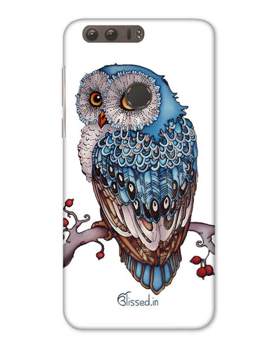 Blue Owl | Huawei Honor 8 Phone Case