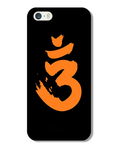 Saffron AUM the un-struck sound | IPhone 5s  Phone Case