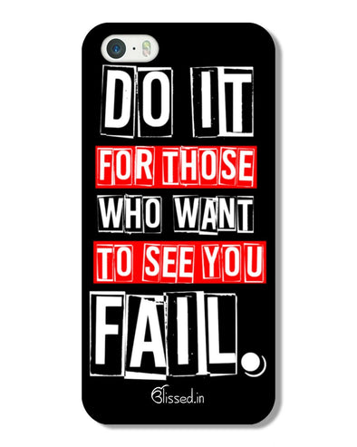 Do It For Those | iPhone 5 Phone Case