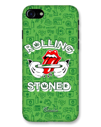 Rolling Stoned | iPhone 8 Phone Case