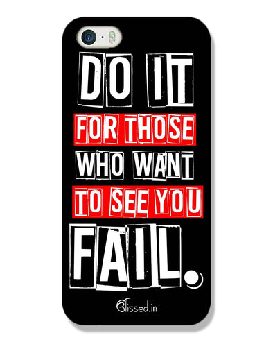 Do It For Those | iPhone SE Phone Case