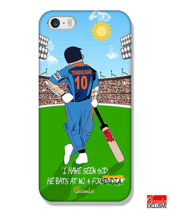 Tribute to Sachin | iPhone SE Phone Case