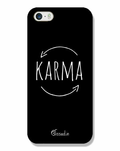 karma | iPhone SE Phone Case
