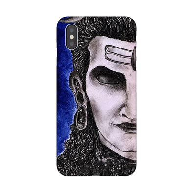 Meditating Shiva | iPhone XS Max Phone case