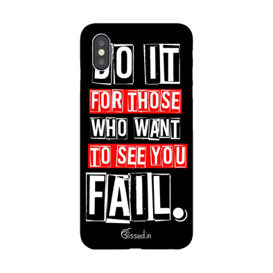 Do It For Those |  iPhone XS Max Phone Case