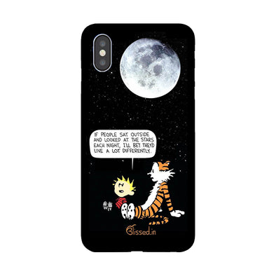 Calvin's Life Wisdom | iPhone XS Max  Phone Case