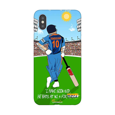 Tribute to Sachin | iPhone XS Max Phone Case