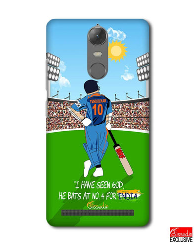 Tribute to Sachin | Lenovo K5 Note Phone Case