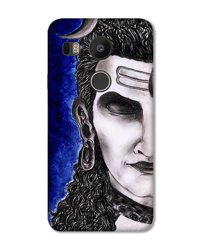 Meditating Shiva | Lg Nexus 5x Phone case
