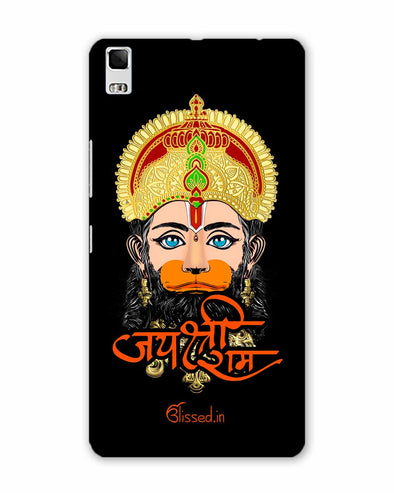 JAI SRI RAM - HANUMAN | Lenovo K5 Note PHONE CASE BLACK