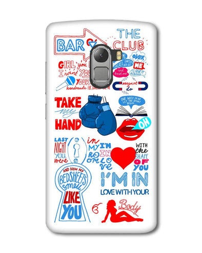 Shape of you - White | Lenovo K4 Note Phone Case