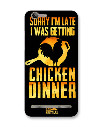 sorr i'm late, I was getting chicken Dinner |  Lenovo Vibe K5 Plus Phone Case