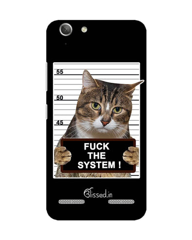 F*CK THE SYSTEM  | Lenovo Vibe K5 Phone Case