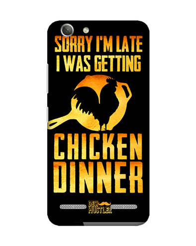 sorr i'm late, I was getting chicken Dinner |  Lenovo Vibe K5 Phone Case