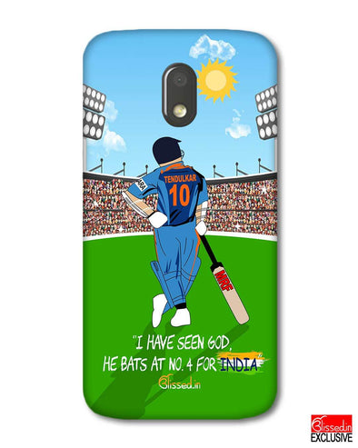 Tribute to Sachin | Motorola E3 Power Phone Case